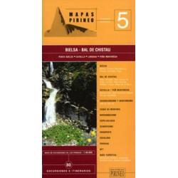 Achat Cartes randonnées Bielsa, Bal de Chistau - Editorial Pirineo