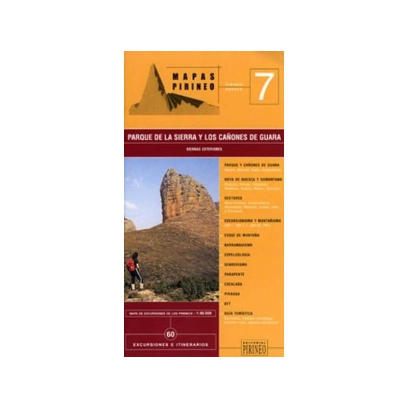 Achat Cartes randonnées Sierra de Guara -  Editorial Pirineo