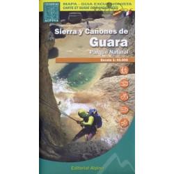 Achat Cartes randonnées Sierra de Guara - Alpina