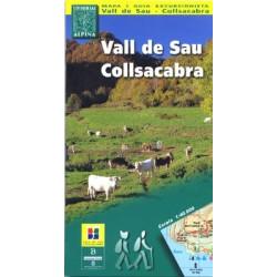 Achat Cartes randonnées Vall de Sau, Collsacabra - Alpina