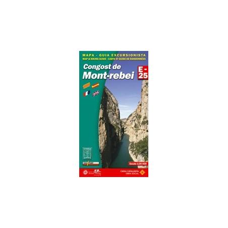 Achat Cartes randonnées Congost de Montrebei - Alpina