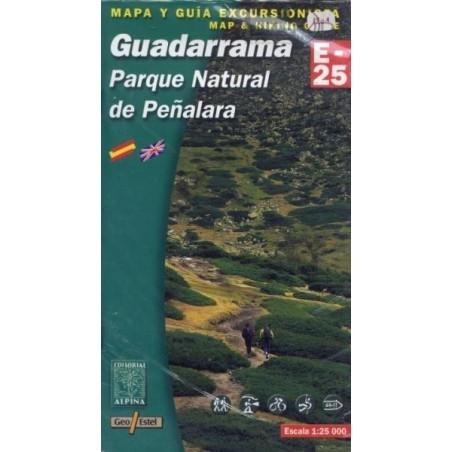 Achat Cartes randonnées Guadarrama - Alpina