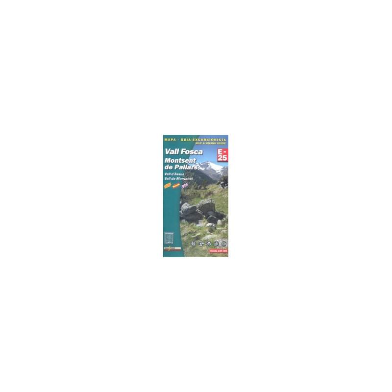 Achat Cartes randonnées Vall Fosca - Alpina