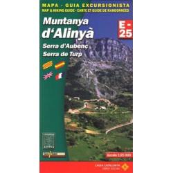 Achat Cartes randonnées Montanya d'Alinya - Alpina