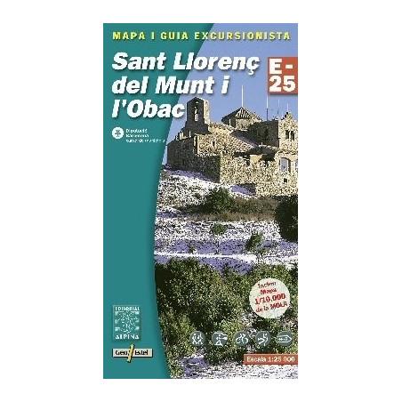 Achat Cartes randonnées Sant Llorenc del Munt - Alpina