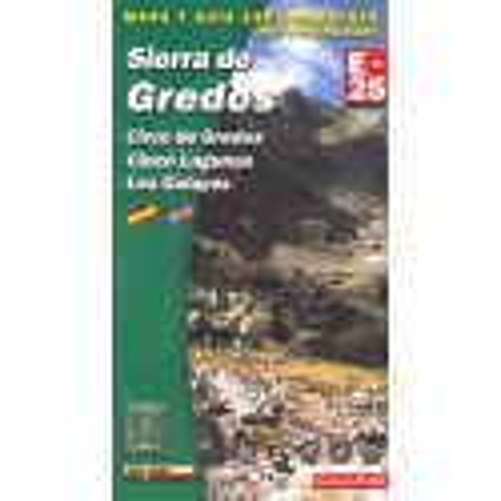 Achat Cartes randonnées Sierra de Gredos - Alpina