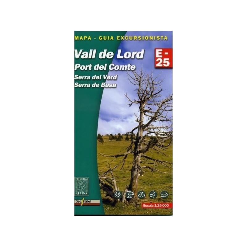 Achat Cartes randonnées Vall de Lord - Alpina