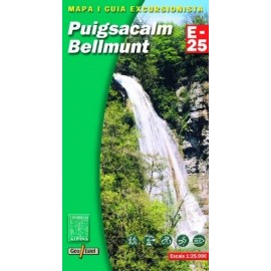 Achat Cartes randonnées Puigsacalm, Bellmunt - Alpina