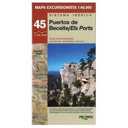 Achat Cartes randonnées Ports Beceite Els Ports - Prames