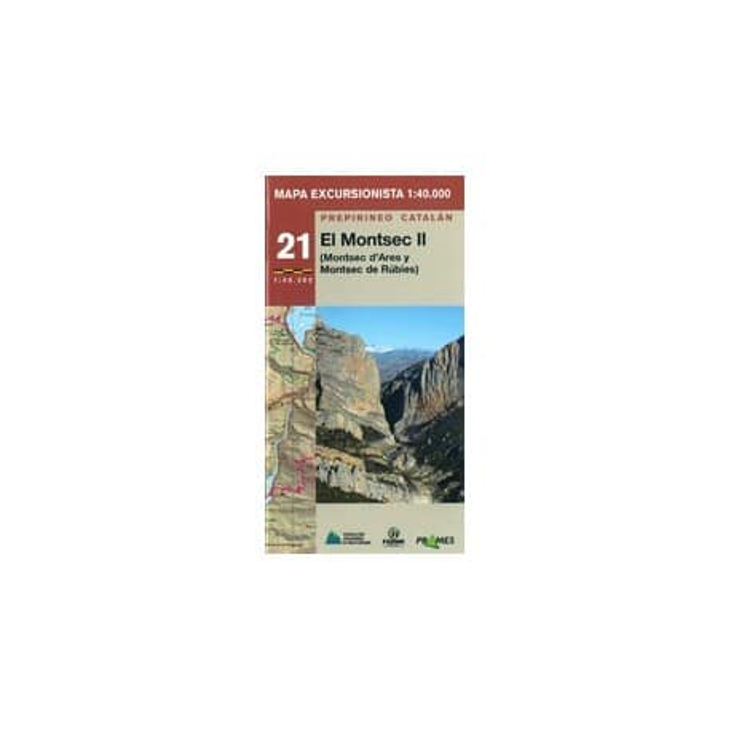 Achat Cartes randonnées Montsec II Ares et Rubis Montsec - Prames