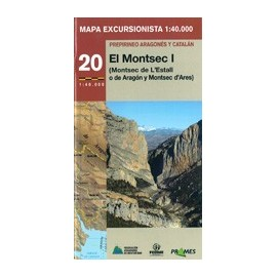 Achat Cartes randonnées Montsec I Montsec d'Aragon - Prames