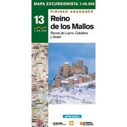 Achat Cartes randonnées Reino de los Mallos - Prames