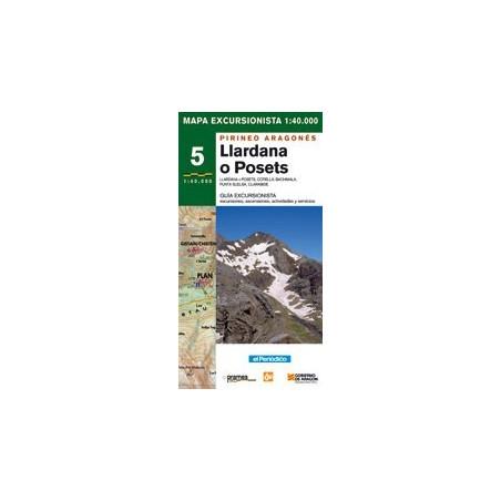Achat Cartes randonnées Llardana Posets - Prames