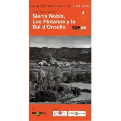 Achat Cartes randonnées Sierra Nobla Bal d'Onsella - TOP25 Prames