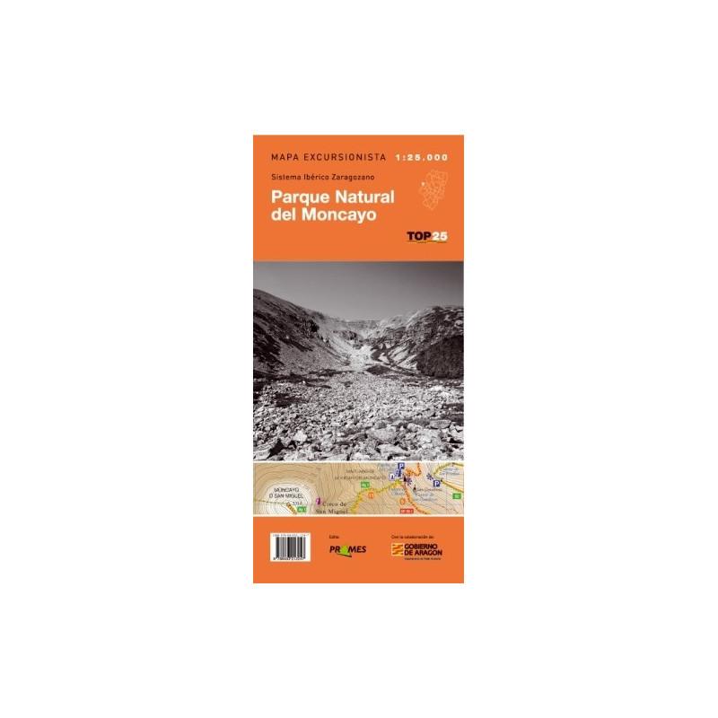 Achat Cartes randonnées Parc Naturel Moncayo - TOP25 Prames