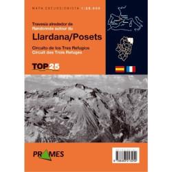 Achat Cartes randonnées Travesía alrededor de Llardana o Posets - TOP25 Prames