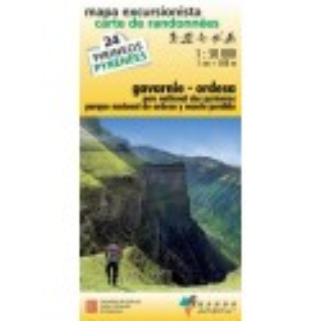 Achat Carte de randonnées Gavarnie-Ordesa - Randoéditions n°24