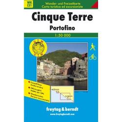 Carte randonnées Cinque Terre, Portofino - Freytag 131