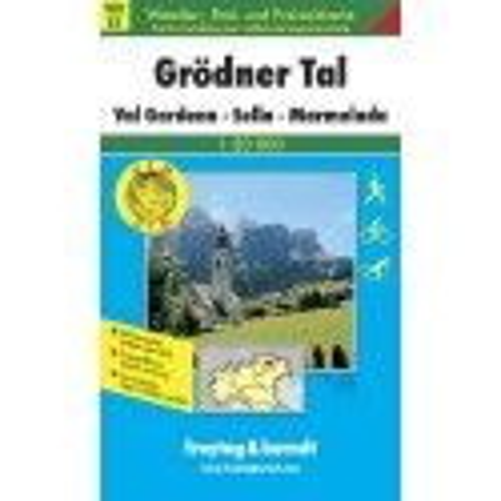 Achat Carte randonnées Grödnertal, Val Gardena, Sella, Marmolada - Freytag 5