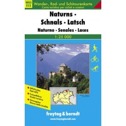 Carte randonnées Naturns, Schnals, Latsch - Freytag 12