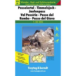 Carte randonnées Passeiertal, Jaufen - Freytag 8