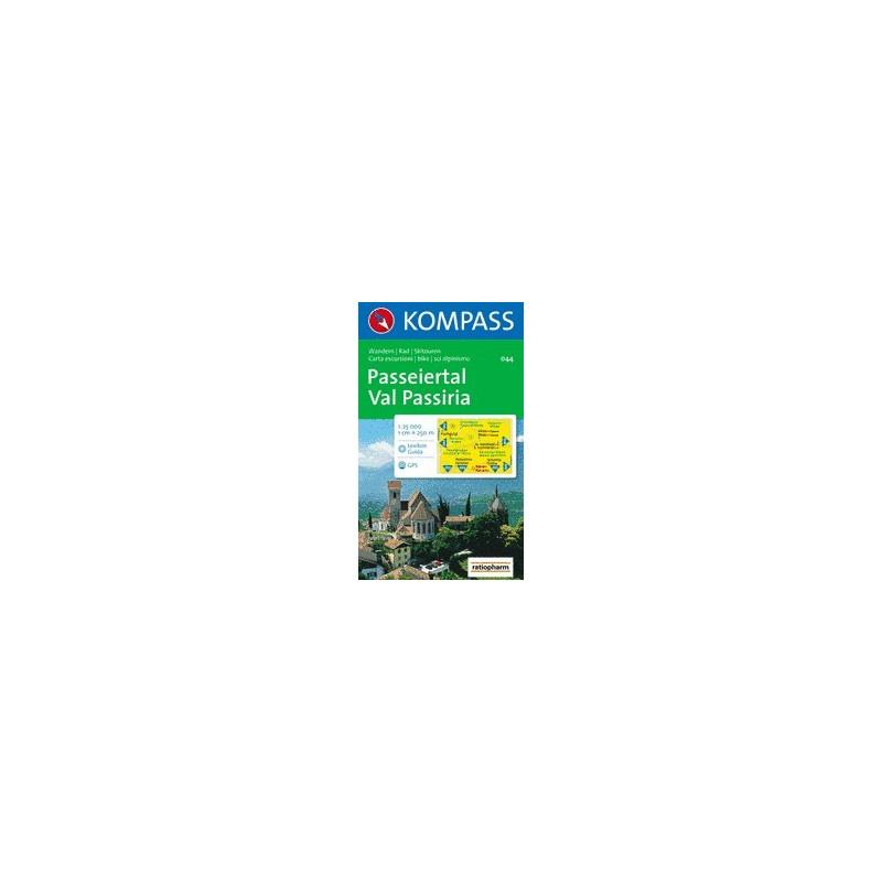 Achat Carte randonnées Passeiertal / Val Passiria - Kompass 044