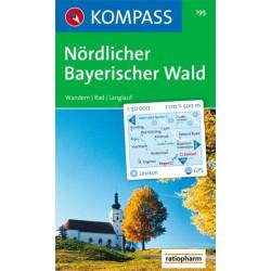 Nördlicher Bayerischer Wald - Kompass 195