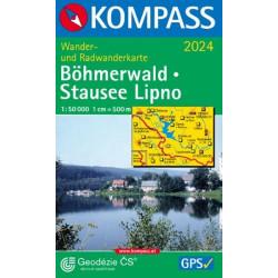 Böhmerwald-Stausee Lipno - Kompass 2024