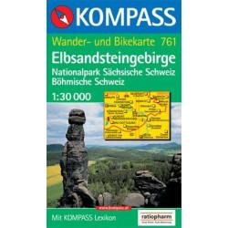 Elbsandsteingebirge - Kompass 761