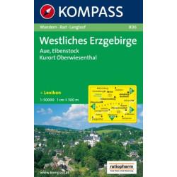 Erzgebirge, Westliches - Kompass 806