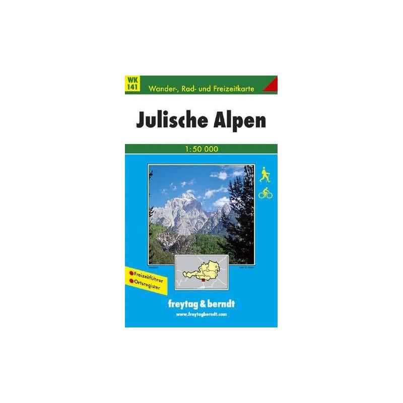 Achat Carte randonnées Alpes Juliennes - Freytag 141