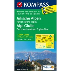 Julische Alpen, Nationalpark Triglav - Kompass 064