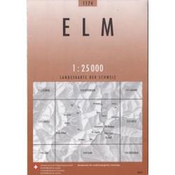 Achat Carte randonnées swisstopo - Elm - 1174