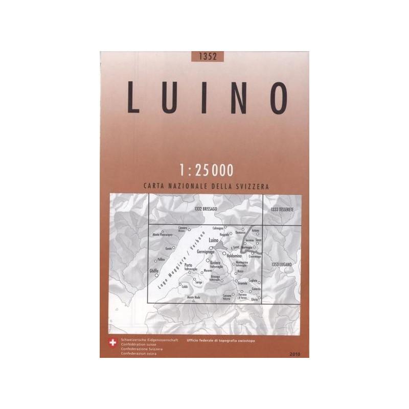 Achat Carte randonnées swisstopo - Luino - 1352