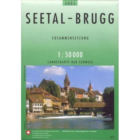 Achat Carte randonnées swisstopo - Seetal Brugg - 5005