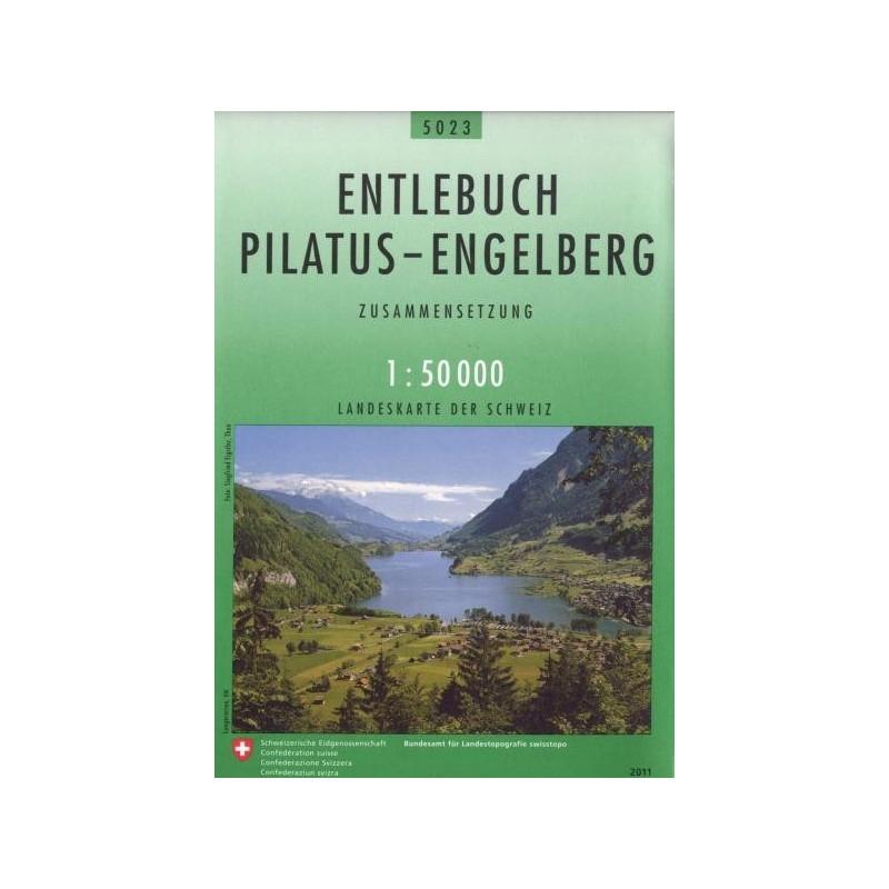 Achat Carte randonnées swisstopo - Entlebuch Pilatus Engelberg - 5023