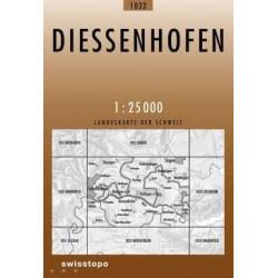 Achat Carte randonnées swisstopo - Diessenhofen - 1032