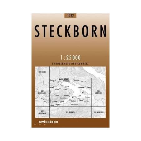 Achat Carte randonnées swisstopo - Steckborn - 1033