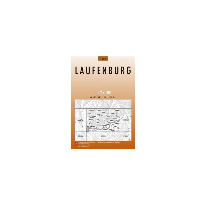 Achat Carte randonnées swisstopo - Laufenburg - 1049