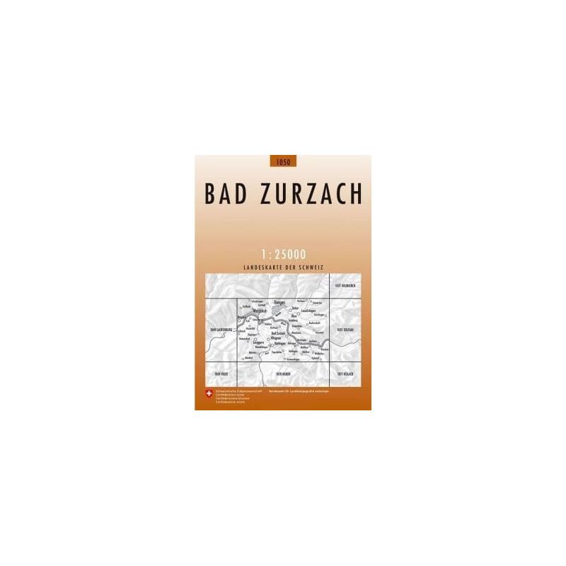 Achat Carte randonnées swisstopo - Bad Zurzach - 1050