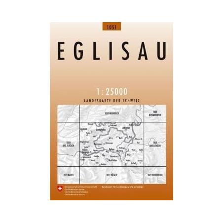 Achat Carte randonnées swisstopo - Eglisau - 1051