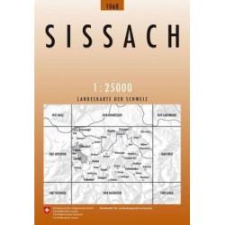 Achat Carte randonnées swisstopo - Sissach - 1068