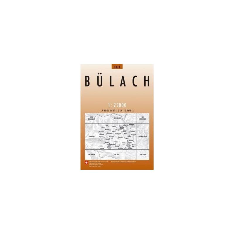 Achat Carte randonnées swisstopo - Bülach - 1071
