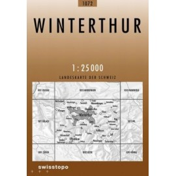 Achat Carte randonnées swisstopo - Winterthur - 1072
