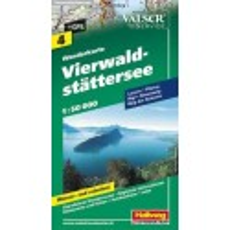 Achat Carte randonnées - Lac des 4 cantons,Vierwaldstättersee - Hallwag 4