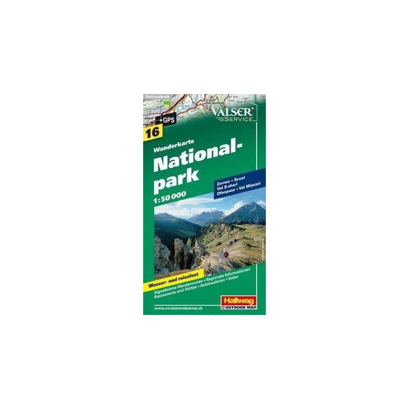 Achat Carte randonnées Nationalpark - Hallwag 16