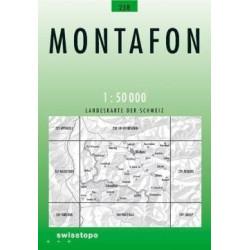 Achat Carte randonnées swisstopo - Montafon - 238