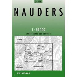 Achat Carte randonnées swisstopo - Nauders - 249bis