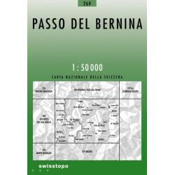 Achat Carte randonnées swisstopo - Passo del Bernina - 269