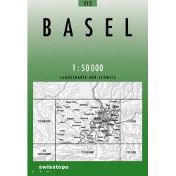 Achat Carte randonnées swisstopo - Basel - 213